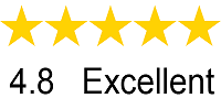 4,8 Star Rating