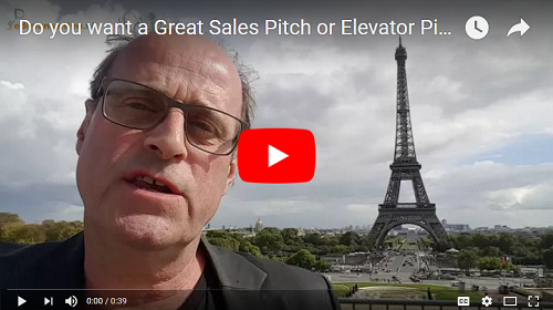 The Elevator Pitch Trainer Coach Speaker Edo van Santen