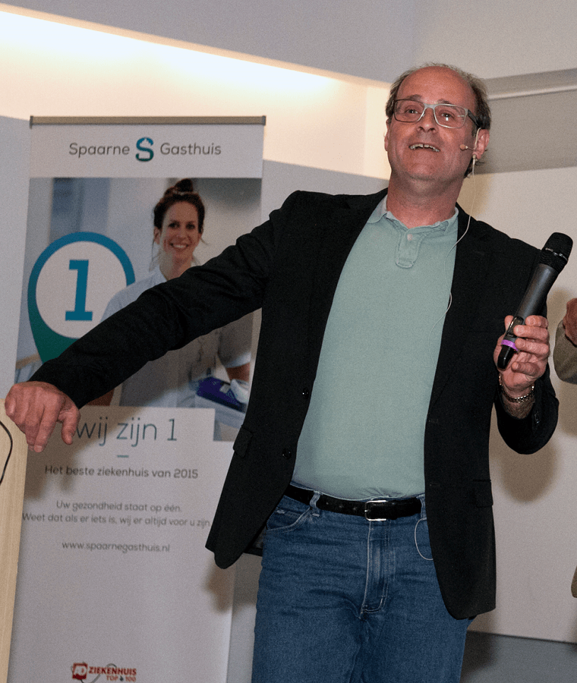 Edo van Santen, The Elevator Pitch Trainer, Coach, Speaker