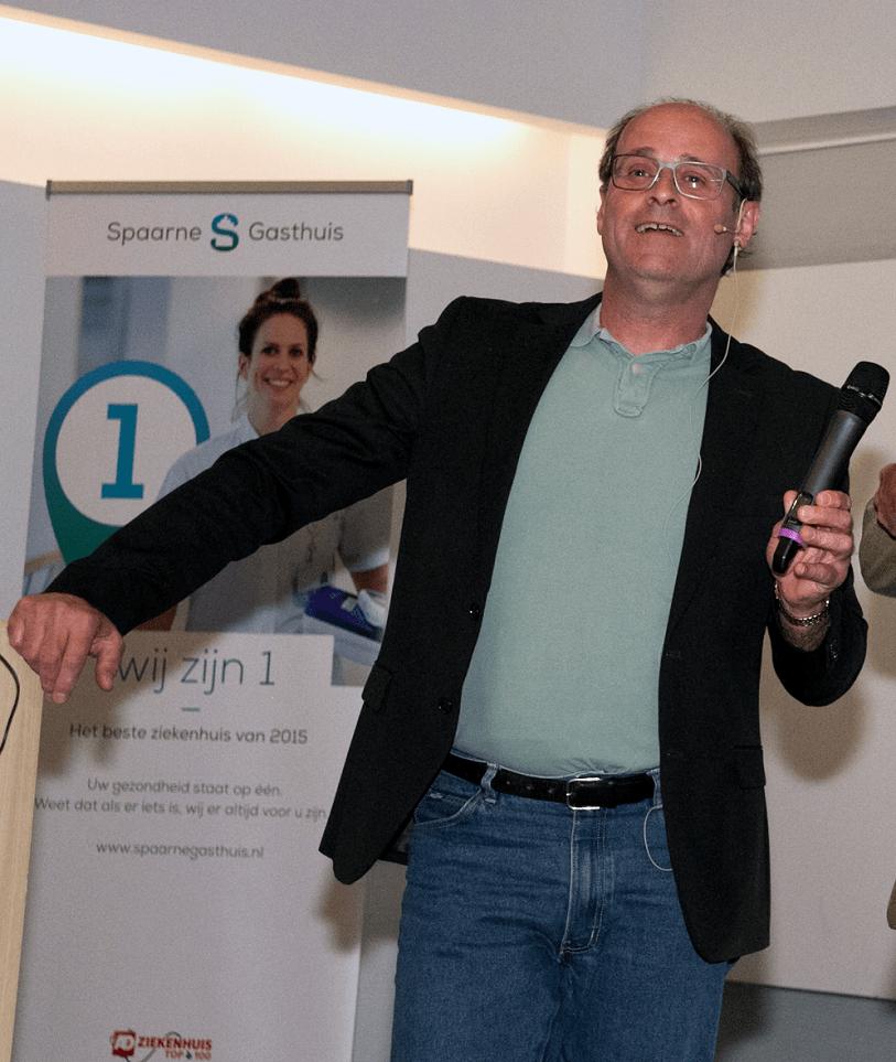 Edo van Santen, De Elevator Pitch Trainer, Coach, Spreker