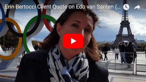 Erin Bertocci Client Quote on Edo van Santen