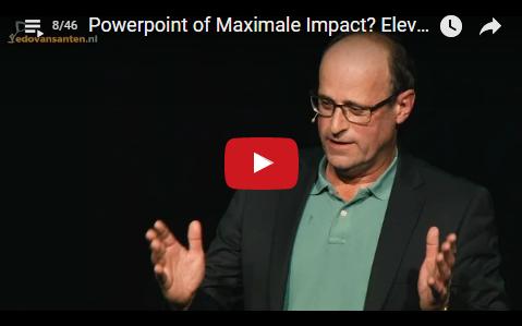 Powerpoint or Maximal Impact? by Elevator Pitch Trainer/Coach/Speaker Edo van Santen