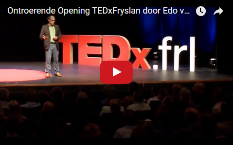 Beautiful Opening TEDxFryslan by Elevator Pitch Trainer/Coach/Speaker Edo van Santen